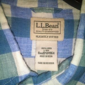 Men's L.L. Bean long sleeve button down